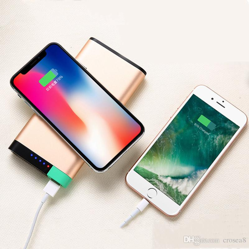 10000mAh Universal Portable QI Wireless Charger Dual USB Power Bank For iPhone Samsung Powerbank USB Charger Wireless External Battery Pack