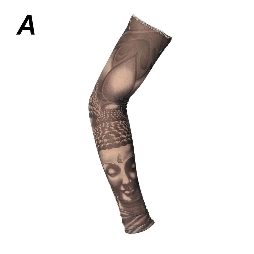 Manicotti scaldamuscoli manica manica tatuaggio temporaneo unisex manica lunga scaldamuscoli tatuaggio temporaneo unisex manica lunga
