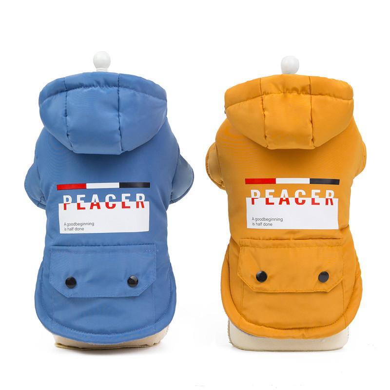 Симпатичная Одежда для собак с корги Два Legged Утолщенной куртки высокого качества осень зима теплого Нового миром гвардия хлопок ватник Pet Fashion Top
