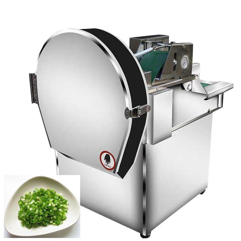 Elektrische Lebensmittel Gemüse-Schneidemaschine Cutter Slicer Kohl Chilli Leek-Skallion Sellerie-Skall-Schneidemaschine 0.24kw CHD-20