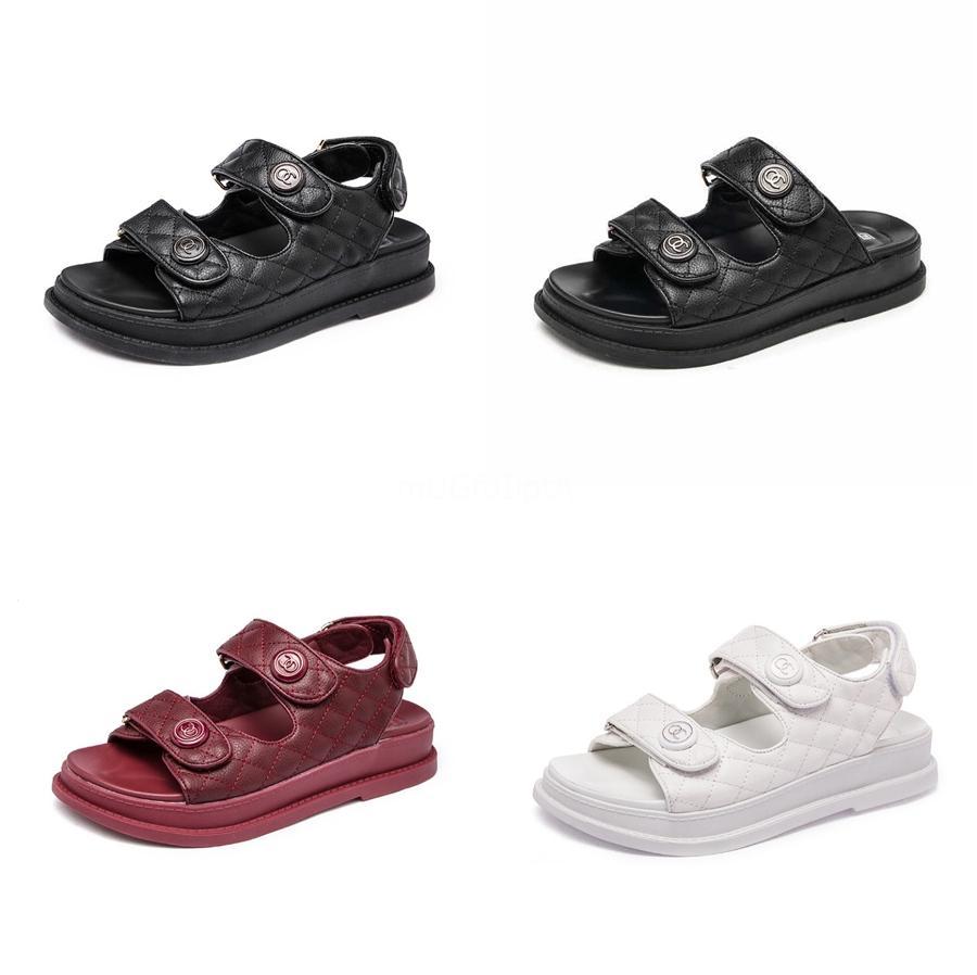 Schuhe Mode für Frauen Kristallperlen Flache Sohlen Freizeit Sandalen der neuen Sommer-Dame Sandals Bohemia Bequeme Damenschuhe T200529 # 206