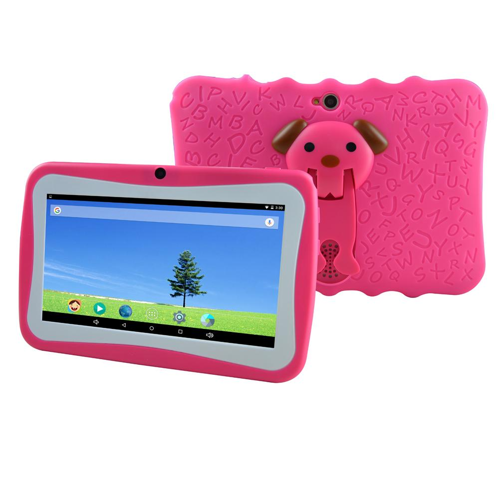 A33 Tablet PC Capacitance Quad Core Q8 Kid Tablet Learning Video WIFI Computers Networking Camera 8GB/ROM 512MB/RAM Bluetooth 3G Google DHL