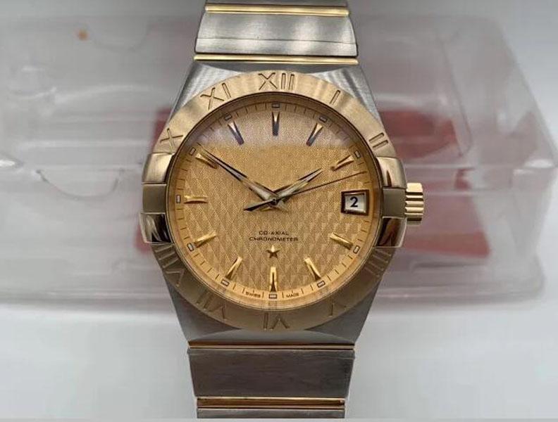 Престижное Лучшее качество VS Factory 2020 Сталь Swiss 8500 Механизм Автоматический 38мм ETA yellow005 часы
