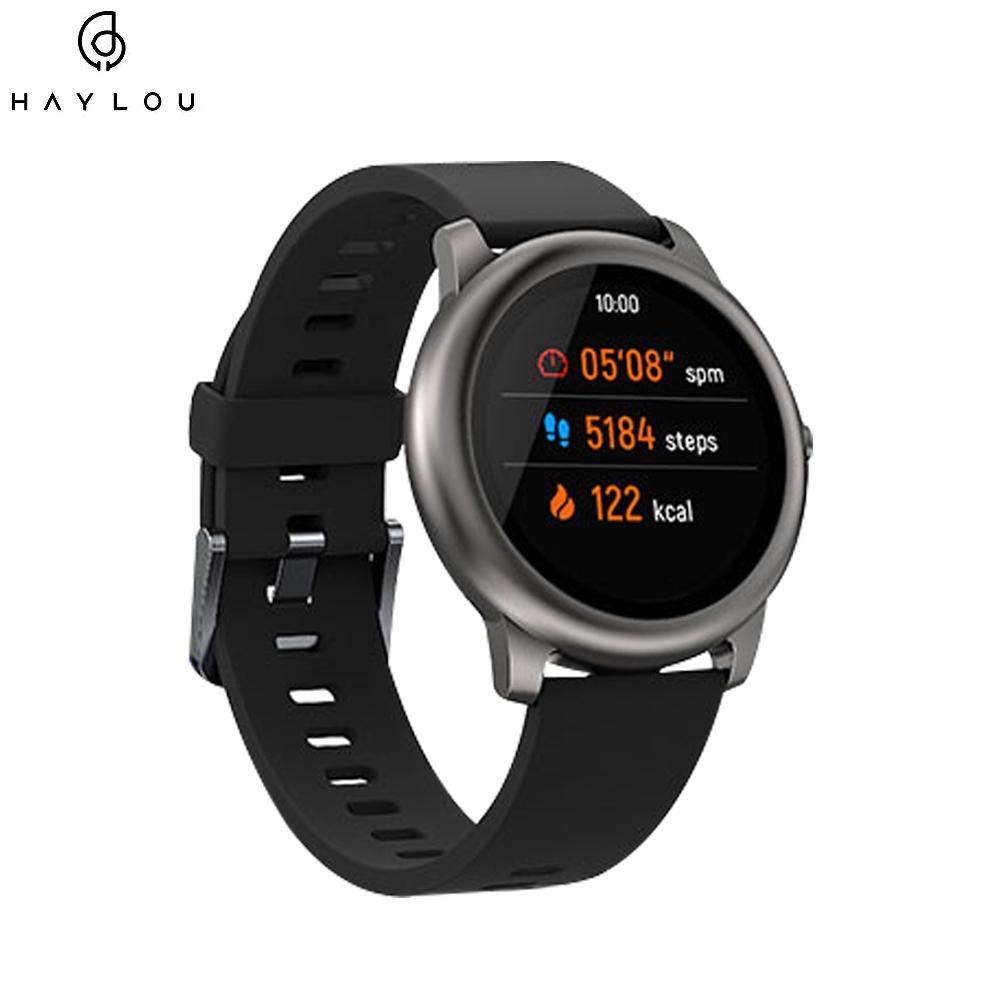 Haylou Солнечный Смарт Часы IP68 Водонепроницаемые SmartWatch Женщины Мужчины Часы для Android IOS Фитнес Tracker Haylou Watch 3 От Xiaomi