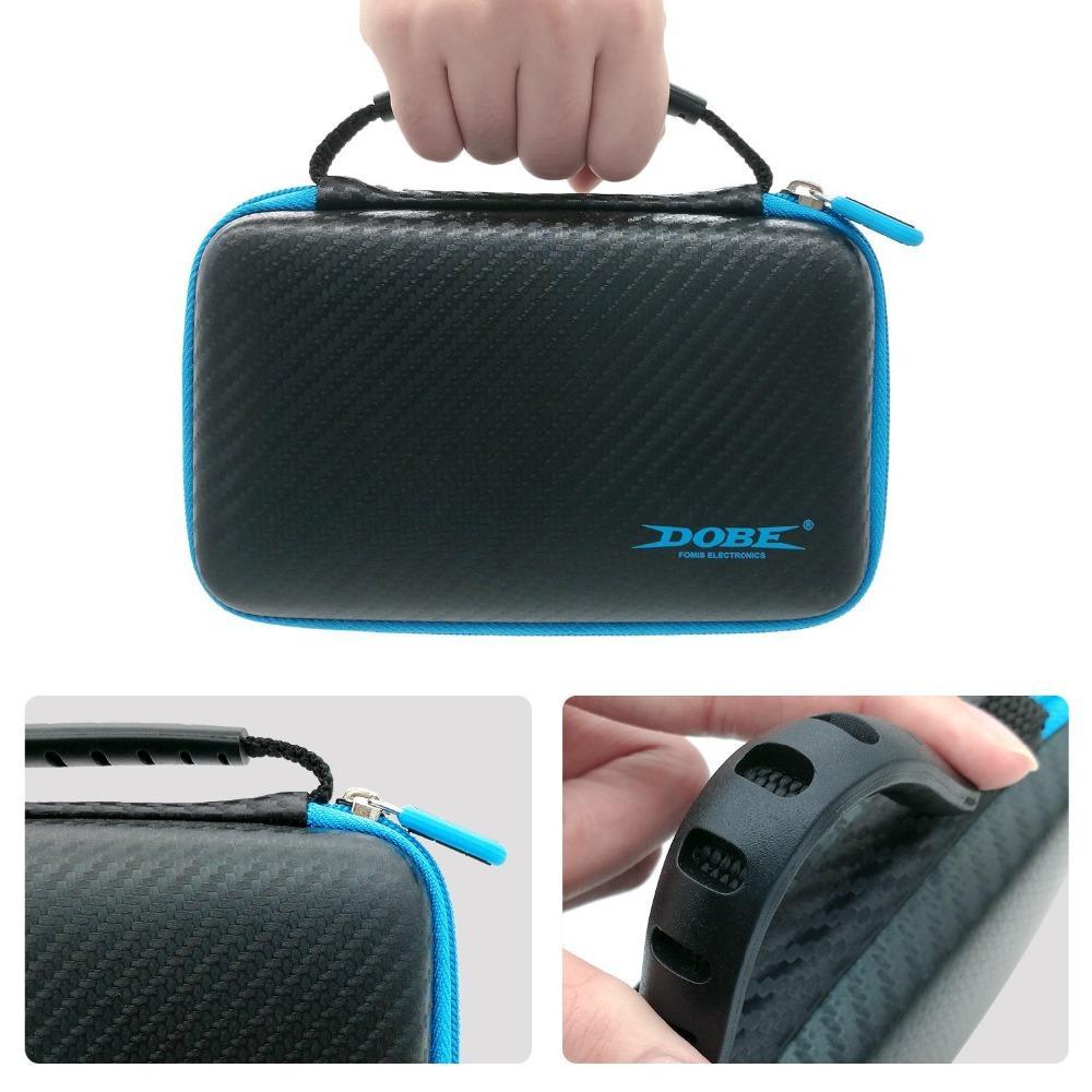الحال بالنسبة لنينتندو الجديد 2DS XL دائم السفر حقيبة القضية لمدة NS نينتندو New2DSLL Accessories3 في 1 اقية كيت EVA حقيبة التخزين