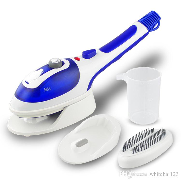 Handheld Portable Vertical Steamer Fabric Clothes Travel Garment with Steam Irons Brushes Steam Iron for Ironing Clothes