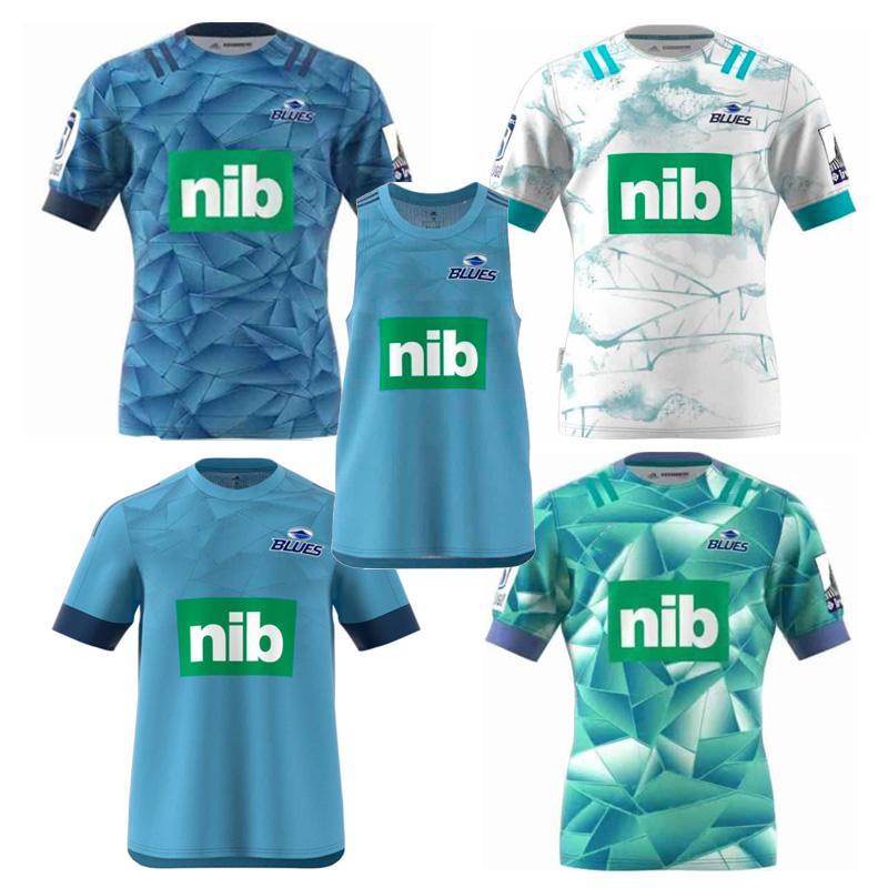 Новая 2020 BLUES Супер регби Джерси Обучение Джерси Национальная лига регби рубашка Zealand Blues Performance Tee Singlet рубашка Размер S-3XL