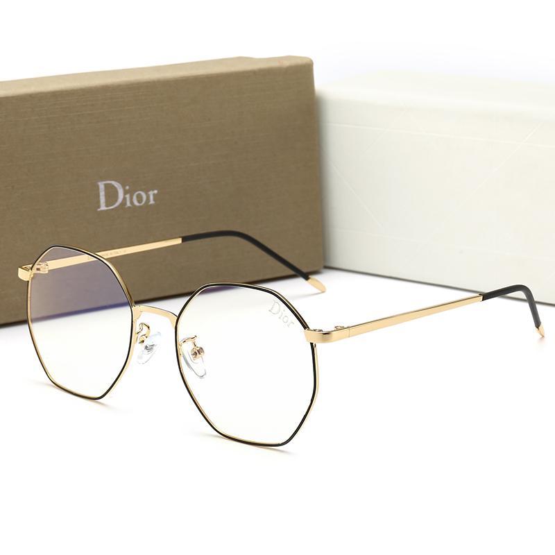 النظارات الشمسية مصمم الجملة العلامة التجارية للرجال كاملة الإطار Adumbral نظارات واقية للأزياء الرجال النساء جديد مضاد للأزرق فاتح شقة مرآة نظارات مع صندوق