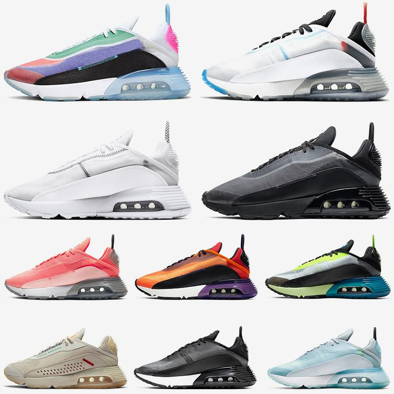 NEW 2090 Be True womens mens running shoes Pure Platinum Black and Anthracite Lava Glow Aurora Green Volt Blue mens trainers size 36-45