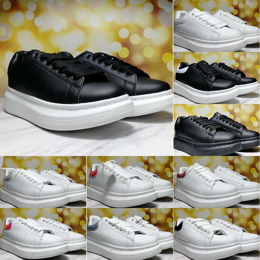 casuales de la moda de las mujeres de los hombres Alexendre McQveen mujeres de los hombres zapatos zapatillas de deporte superiores inferiores aire libre de interior E11D plazo