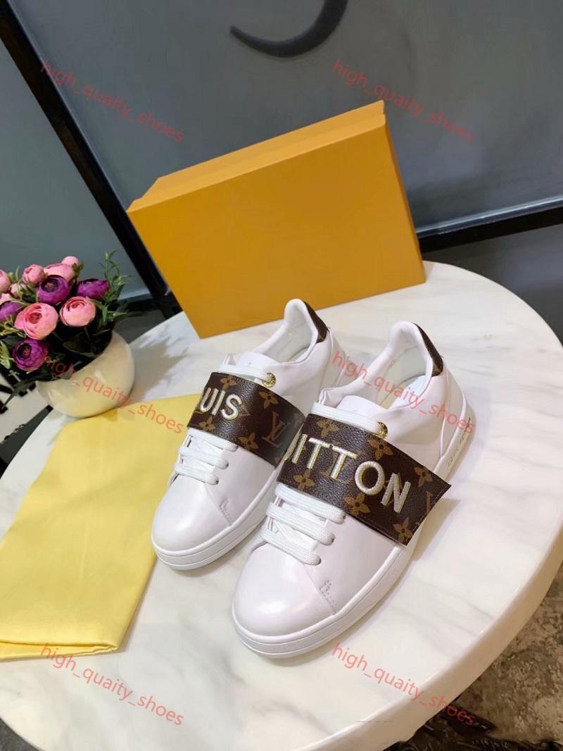 Louis Vuitton Shoes Xshfbcl 2020 as últimas homens sapatas das mulheres Lusso couro genuíno Moda Branca mulheres calçados casuais de couro reais sapatos de qualidade confortável