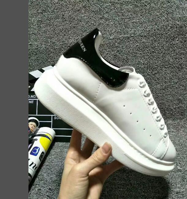 nv003 der neueste heiße Qualität Plattform Modedesign Männer Frauen Schuhe Turnschuhe Leder Velvet flacher Freizeitschuh Plattform-Trainer