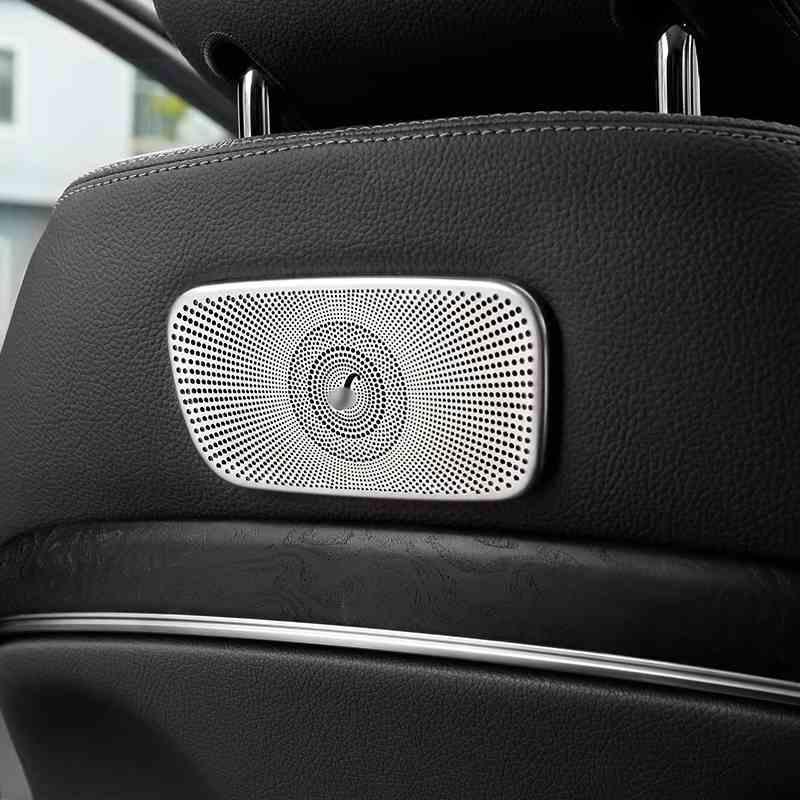 메르세데스 벤츠 E 클래스 W213 E200 E300 자동차 액세서리 자동차 스타일링 실내 좌석 장식 그물 커버 트림 프레임 스트립 스티커