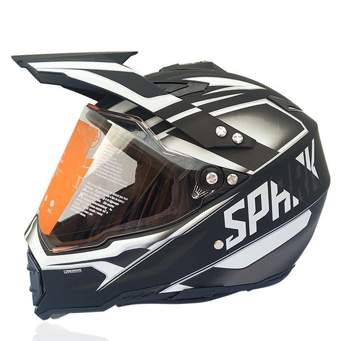 Professionale per moto fuoristrada Casco Motocross Casco 4 colori Full Face 0408-27