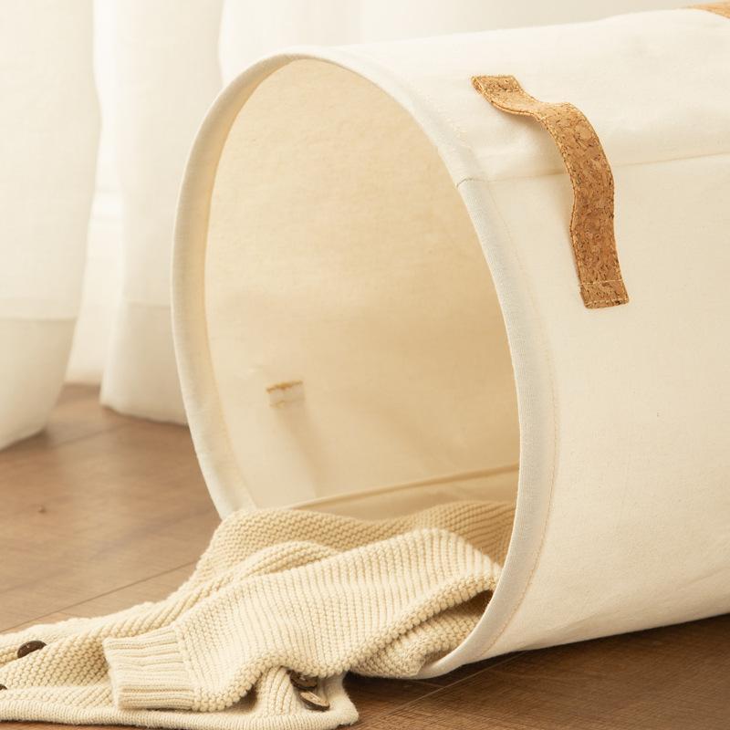 Impermeável cesta de lavanderia Toy Kids Clothes Organizer Cesta de armazenamento grande lençóis de algodão Roupa de Compras Home Diversos Armazenamento