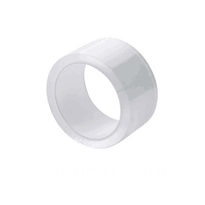 Temizle Kendinden Yapışkanlı Su Geçirmez Onarım Bant Sızdırmazlık Bandı Şerit için Küvet Banyo Duş Tuvalet Mutfak ve Duvar Sızdırmazlık 5 cm x 3 m