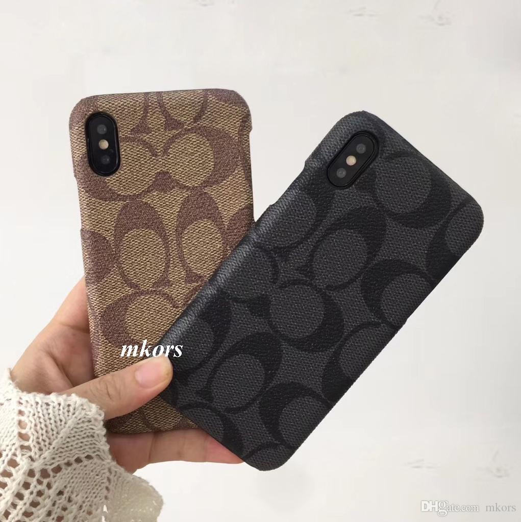 Premium Texture Dur TPU Coque Rigide Téléphone pour iPhone X XS MAX XR 8 8 plus 7 7 plus 6 6 s Vintage Design Cases Cover