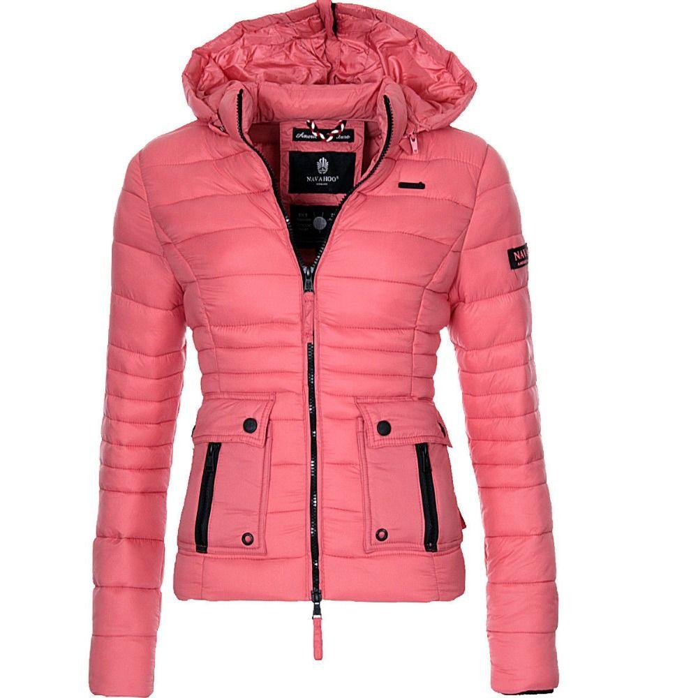 ZOGAA Brand New Women Winter Coat Cotton Paddedd Warm Overcoat Clothes Casual Solid Winter Jacket Women Parkas Outerwear