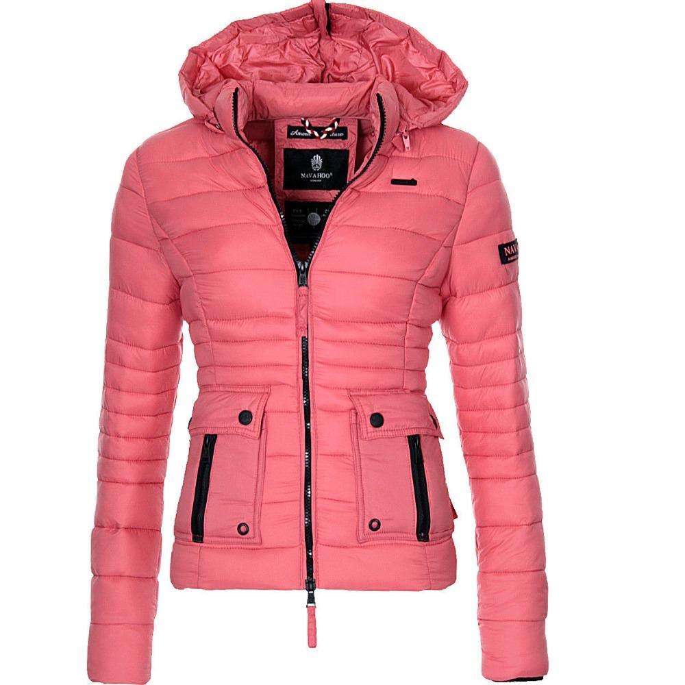 ZOGAA nuovissimo inverno delle donne Cappotto del cotone Paddedd i vestiti caldi del soprabito solido casuale giacca invernale donne Parkas Outerwear
