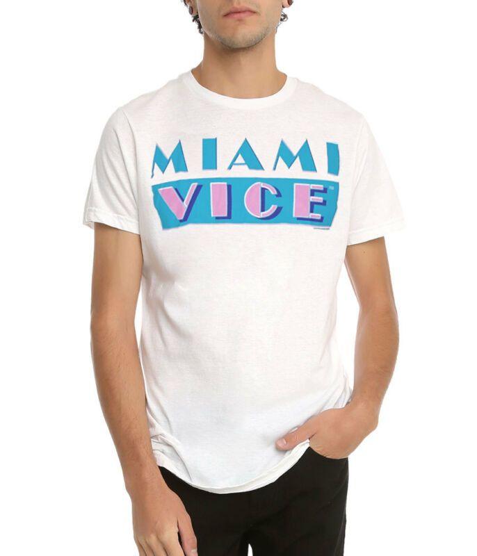 Miami Vice Klasik Logo Tişört