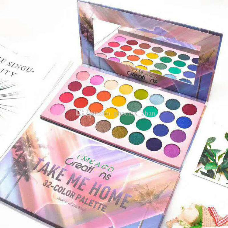 HOT TAKE ME HOME 32 Color eye shadow Palette 32 Colors eye shadow Matte Shimmer EyeShadow Palette DHL free shipping In stock