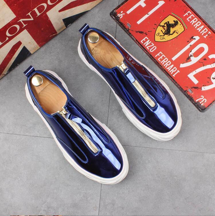 En Tasarımcı Yumuşak Deri erkekler eğlence ayakkabı hediye Moda yüksek kaliteli ayakkabılar Metal Toka Famous Kayma-on marka adam tembel fayları loafer'lar