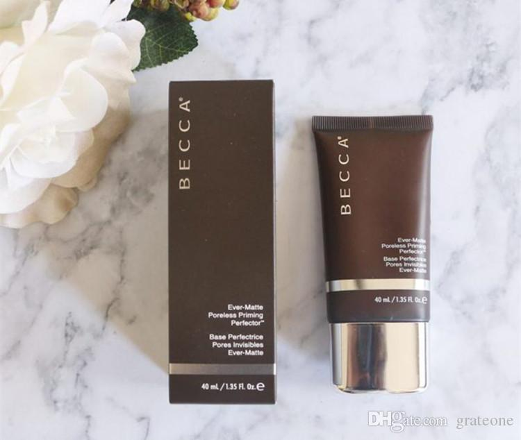 In Stock!!! Makeup Becca Foundation Ever Matte Shine Proof Foundation Sand and Shell BB Cream 40ml .