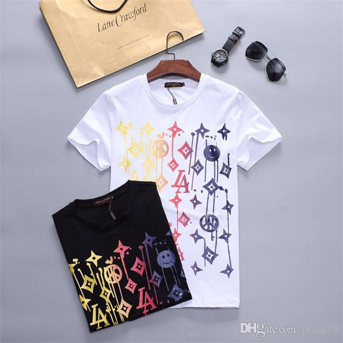 2020 Весна Лето моды Polo Mens дизайнерский бренд T-рубашка Вышитые Тигр Волк с короткими рукавами футболки мужчин Юность футболка M-3XL T67