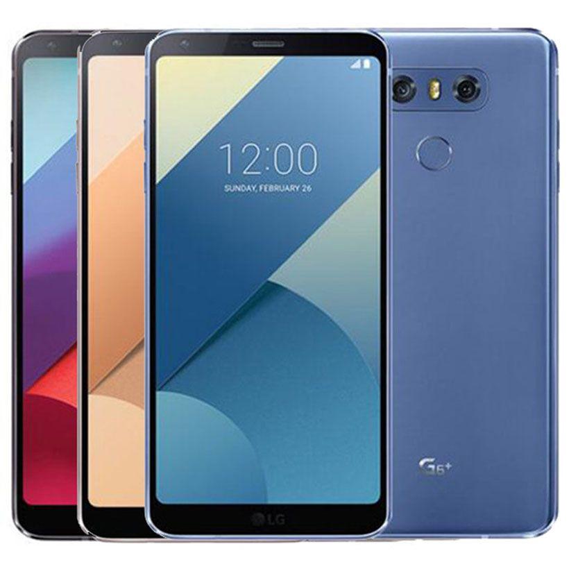 تم تجديده الأصل LG G6 زائد G6 + H870DSU المزدوج SIM 4G LTE 5.7 بوصة رباعية الهاتف الأساسية 4GB RAM 128GB ROM مفتوح الروبوت الذكية DHL 1PCS