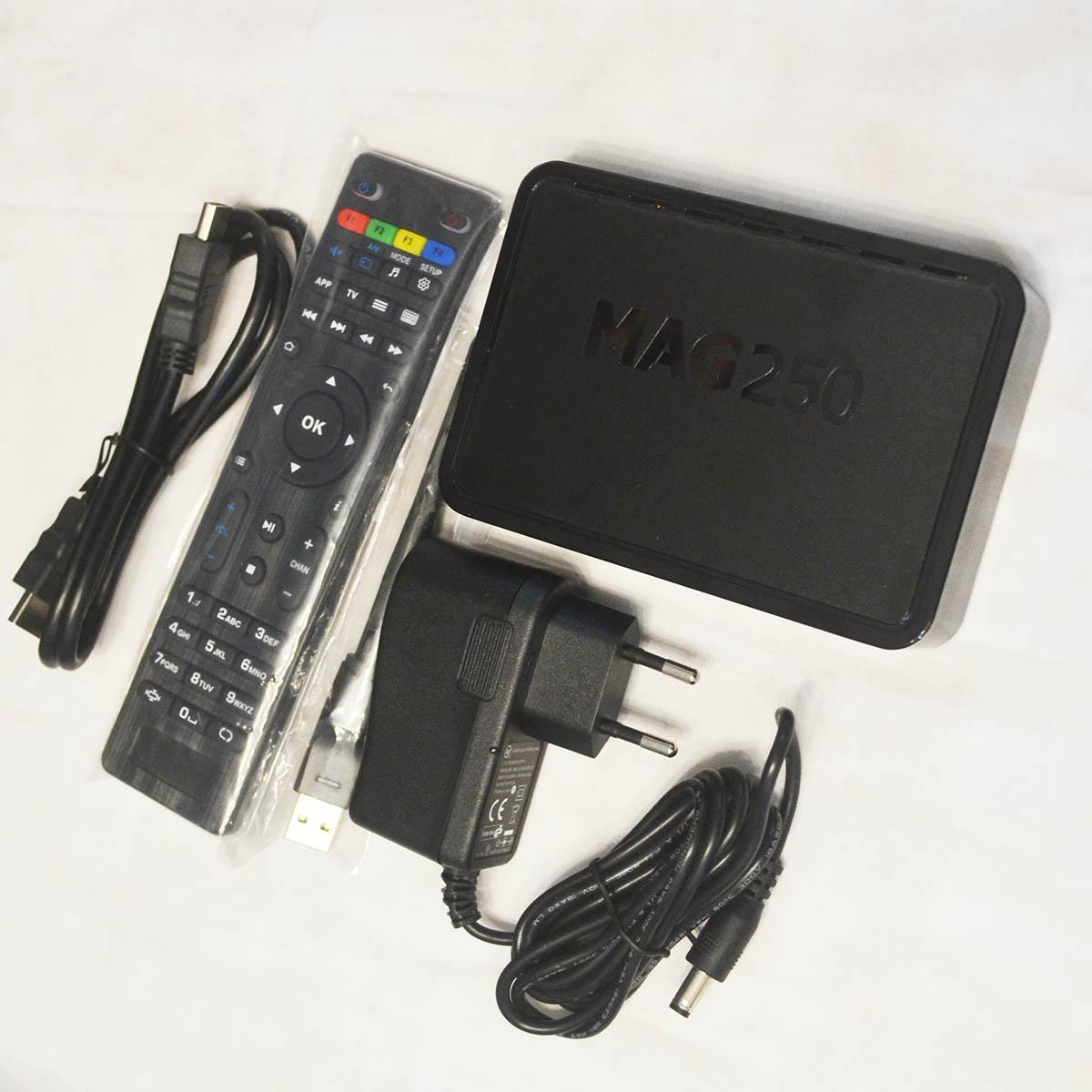 New MAG250 & 150M Wireless antenna Linux System streaming Home Theatre system TV BOX Media Player MAG 250 Same MAG254 MAG322