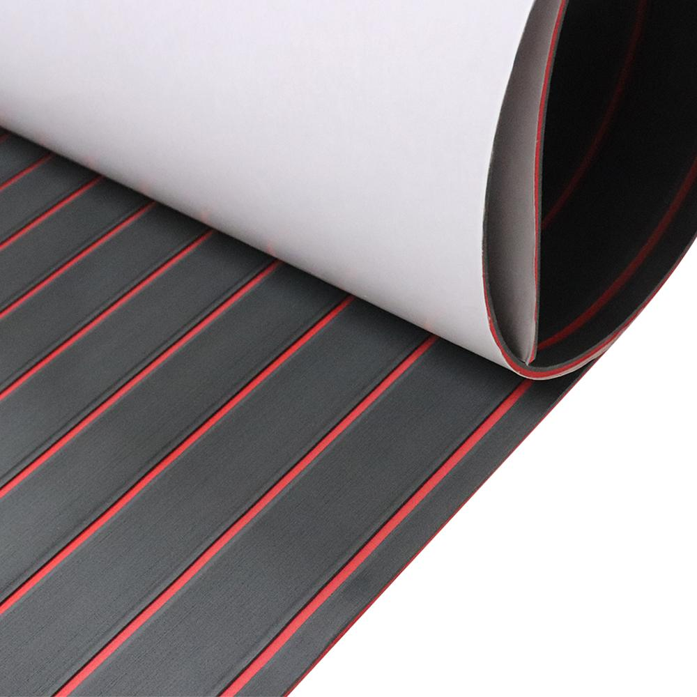 surfing Non-slip mat yacht EVA anti-slip mat 2.4*0.9m black/red drop shipping