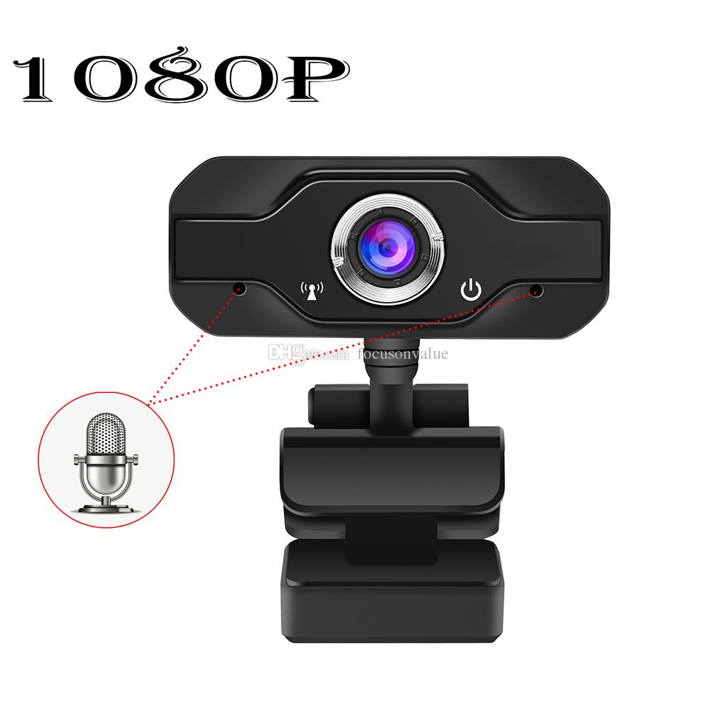 1080P Full HD Webcam Mini Pc Computer Web Camera with Microphone Portable USB Webcam for Video Recorder Online Meeting