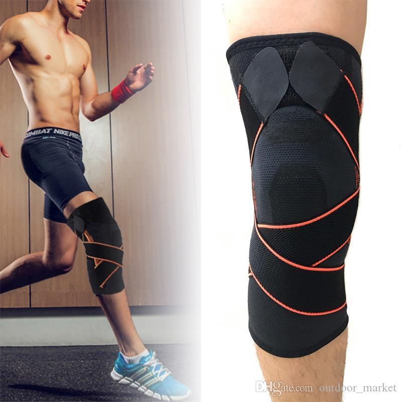 Mayitr 1 шт спортивный колена Расчалка поддержки профессионального воздухопроницаемый рукав brace бандаж коленной чашечки протектор работает Велоспорт