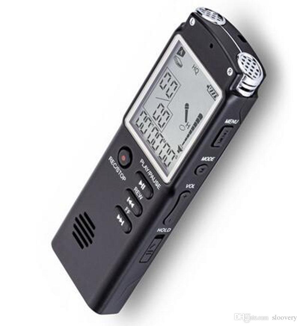 مسجل صوت رقمي USB Professional 96 ساعة مسجل صوتي رقمي مشغل MP3 8GB 16GB 32GB
