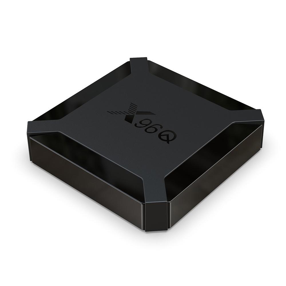 X96Q TV Box Android 10,0 2GB RAM 16GB Smart TV Box Allwinner H313 Quad Core Netflix Youtube Set Top Box Media Player