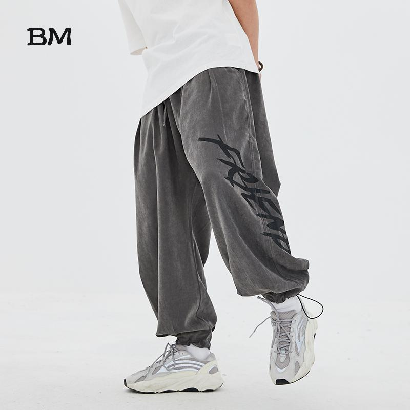 Fashions Baggy Skateboard Pants Streetwear Loose Hip Hop Sweatpants Streetwear Men Korean Style Dance Clothes Sport Joggers