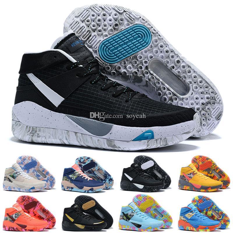 Cheap Kevin Durant Kd 13 Outdoor basketball scarpe KDS 13s per la Mens Nero Blu Camo Soles Bred arrivo formatori Designer Scarpe Sneakers