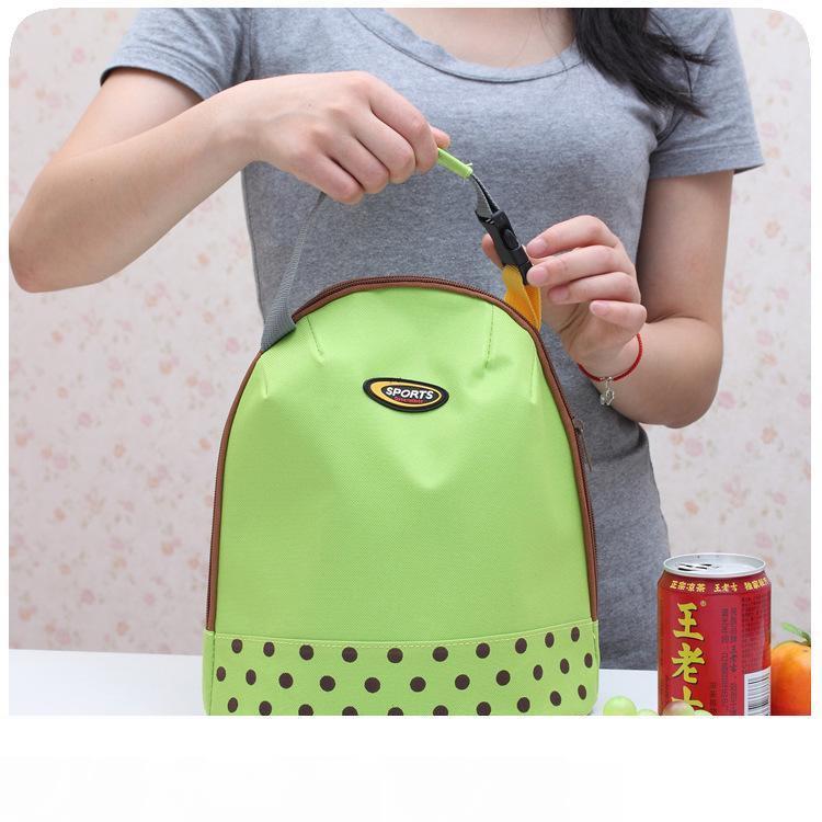 (4styles) أعزل حقيبة الغداء القابلة لإعادة الاستخدام صندوق الغداء الغداء Tote مضادات للماء مكتب مدرسة البقالة للأطفال البالغين حقيبة تخزين FFA2116