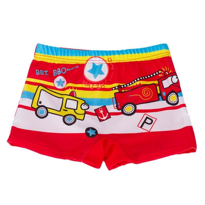 Imprimir cartoon bebê menino piscina shorts crianças swimwear shorts praia menino natação