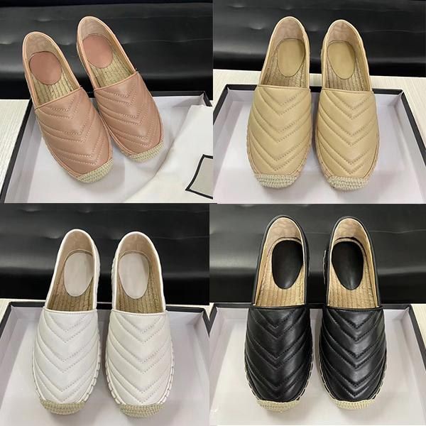 여성 캐주얼 캔버스 신발 봄 에스파 드리 브랜드 고품질의 가죽 로퍼 운동화 패션 두 톤 캔버스 소프트 짚으로 제직 신발