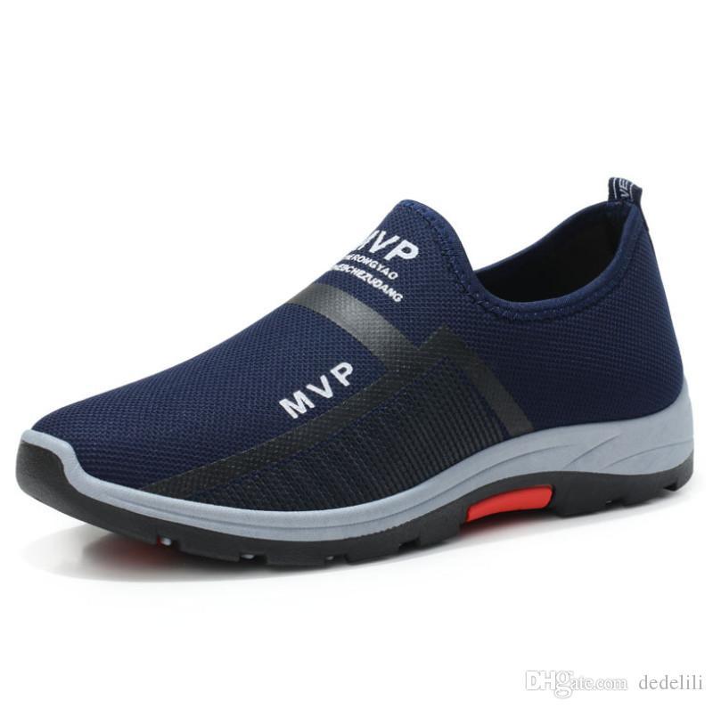 Baratos 2020 mais vendidos sapatos pai respirável fundo macio selvagens de dois tom casual executando sapatos esportes mes de tendência s-shoes
