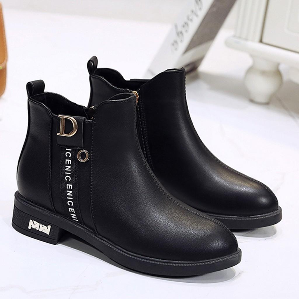 Womens Leisure Shoes Ladies Boots Cute Little Winter Booties