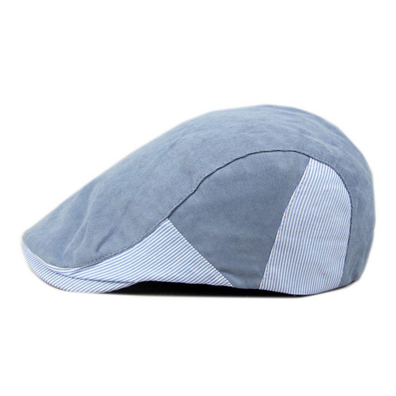 Brand Solid Color Beret For Men Hat Adjustable Cap Male Beret Spring Summer Outdoor Bone Casual Peaked Cap Berets Hats Casquette