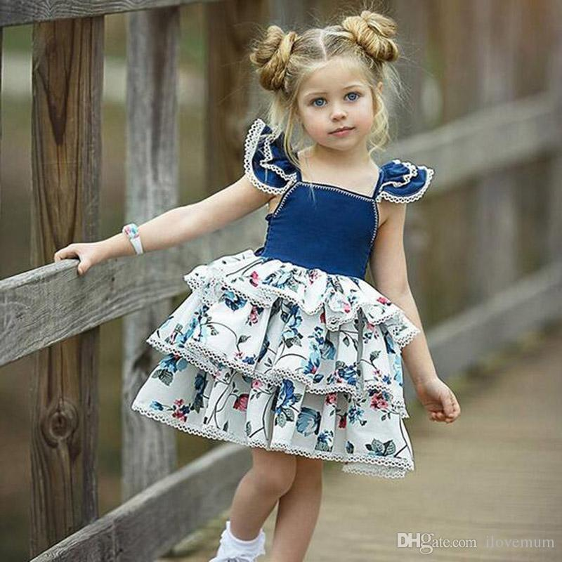 2020 2019 High Quality Italy Luxury Famous Designer Backless Vest Baby Girls Dress Sleeveless Dresses Print Kids Designer Clothes D Home Poncho From Ilovemum 29 85 Dhgate Com