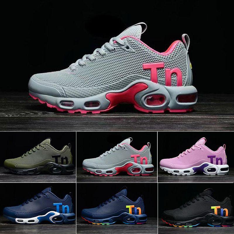 Mercurial TN Erkek Tasarımcı Koşu Ayakkabıları 2019 Erkekler Rahat Hava Yastığı Elbise Eğitmenler Açık En Iyi Yürüyüş Koşu Spor Sneakers ABD 7-12 Q014