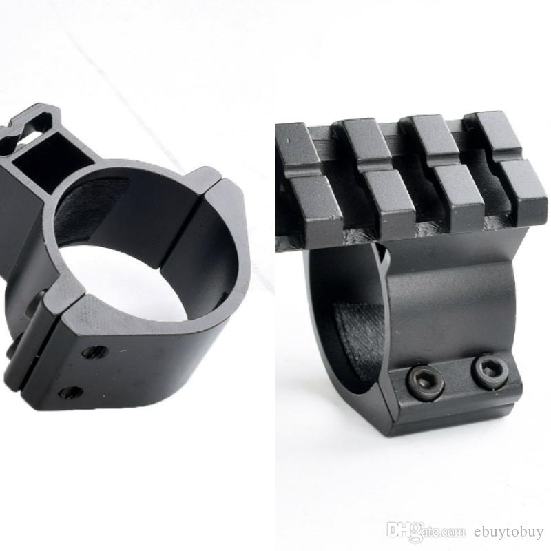 "1pc Rifle Scope Mounts Accessories Barrel 1""/ 25.4mm 30mm Ring Adapter w/ 20mm Scope Weaver Picatinny Rail Mount with Insert caza"