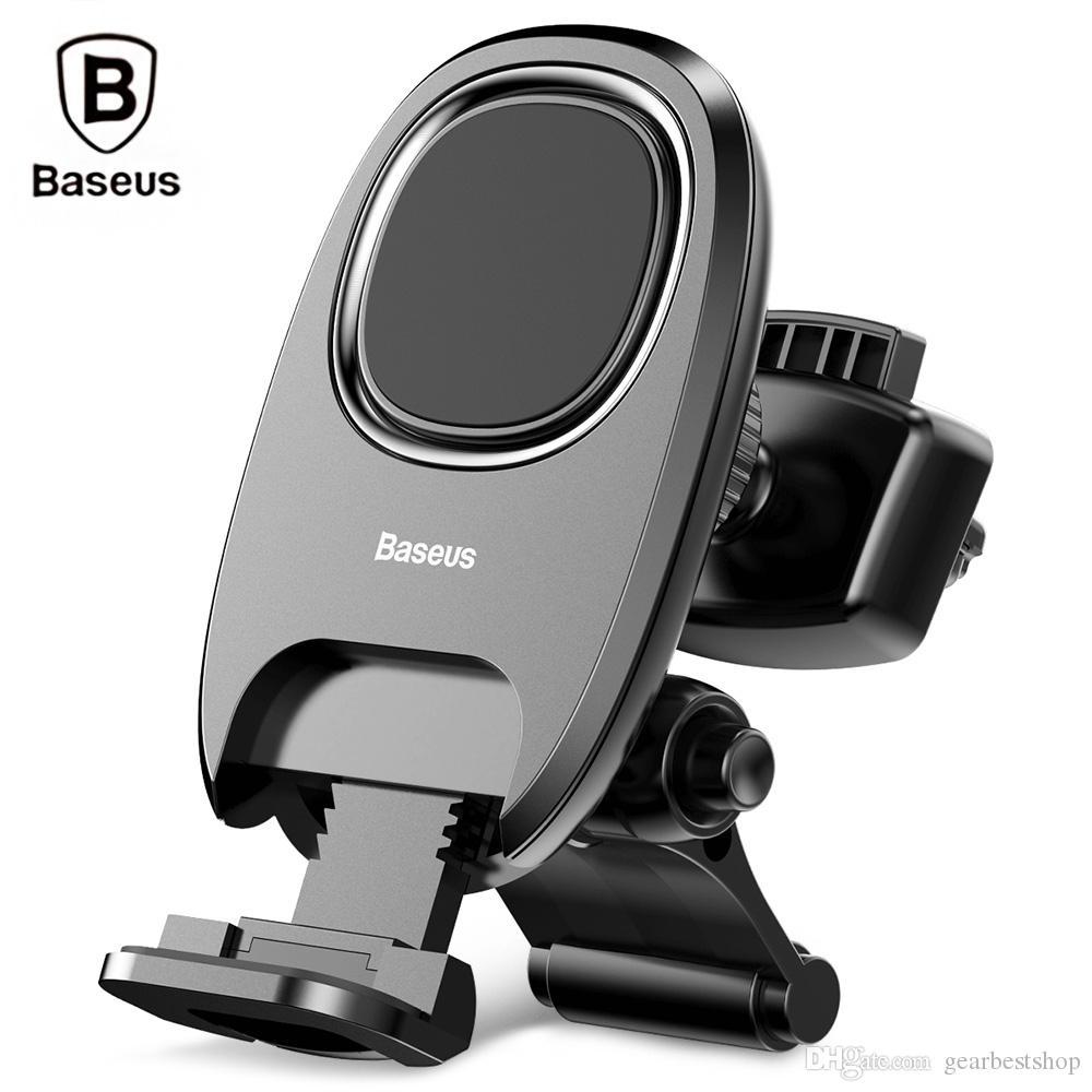 Baseus Magnetic Car Mount Phone Holder Compact Rotation