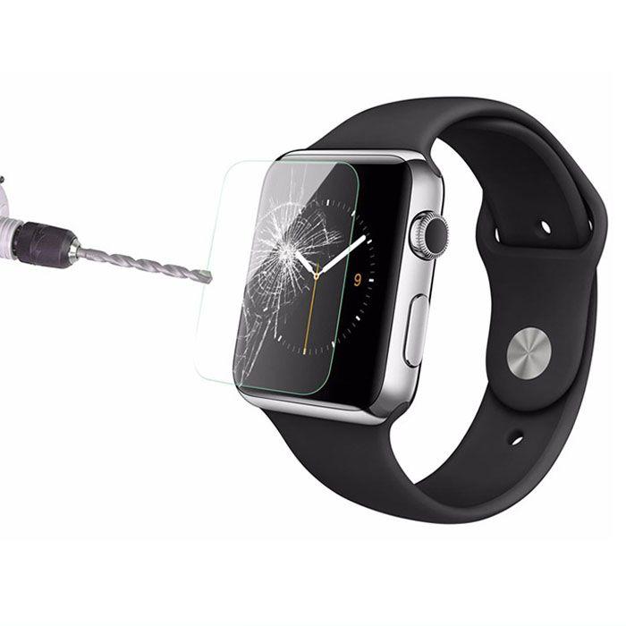 애플 시계 1 2 3 4,9H HD Clear 프리미엄 강화 유리 스크린 프로텍터 Smart IWatches Protection