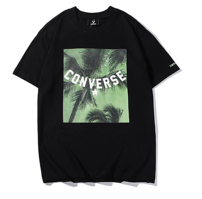 Camisas para hombre de diseñador de verano 2019 Nueva marca de manga corta para hombre camisetas con patrón de letras de impresión masculina Streetwear camisas de marca