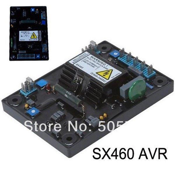 Freeshipping AVR SX460 الجهد المنظم التلقائي مع نوعية جيدة